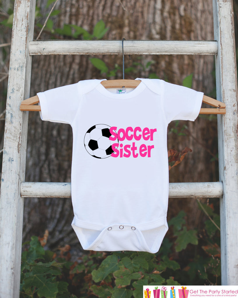 Soccer Sister Outfit Girls Soccer Outfit Soccer Shirt Soccer Fan Outfit Soccer Shorts Toddler Girl Soccer Outfit