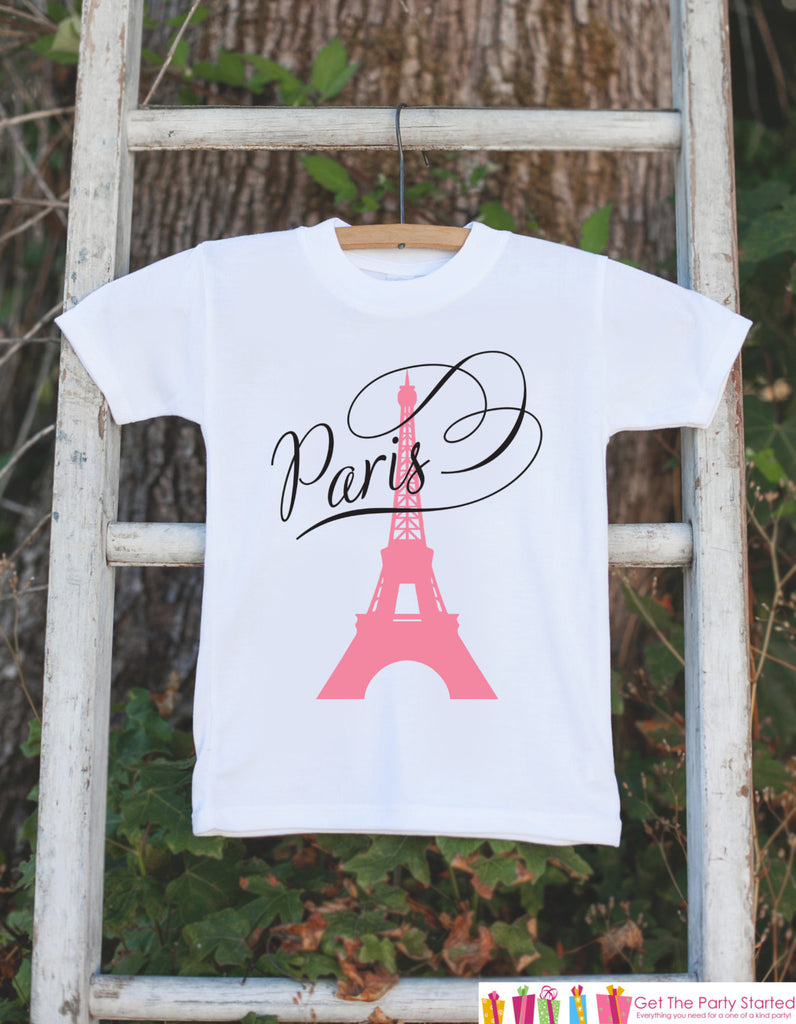 Paris Onepiece with Eiffel Tower - Novelty Baby Shower Gift - Newborn Baby Girl Outfit - Paris Onepiece Newborn Baby Shower Gift