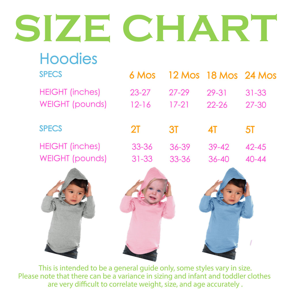Kid's New Years Shirts - Hip Hip Horray - Boy or Girl Happy New Years Eve Outfit - Baby, Toddler New Year's Eve Party Hoodie