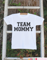 Team Mommy Outfit - Kid's Happy Mother's Day Onepiece or Tshirt - Baby Girl or Boy Baby Shower Gift Idea - Mommy Gift - First Mothers Day