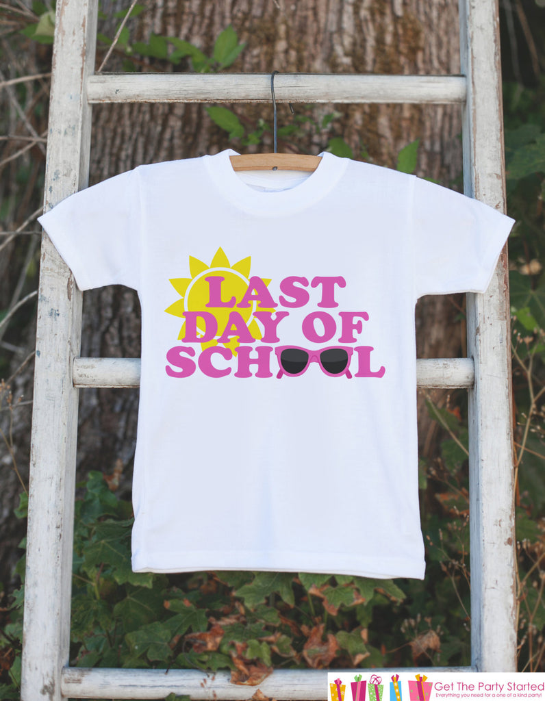 Girls Last Day of School Shirt - School's Out For Summer - Kids School's Out Tshirt - Kids Last Day of School Shirt for Girls - Clothing