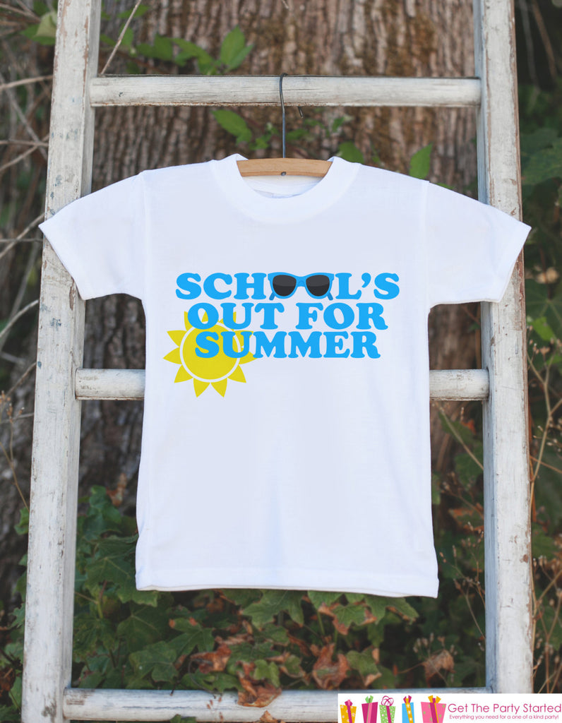 Kids School's Out For Summer Shirt - Last Day of School Shirt - Boys School's Out Tshirt - Kids Last Day of School Shirt for Boys - Clothing