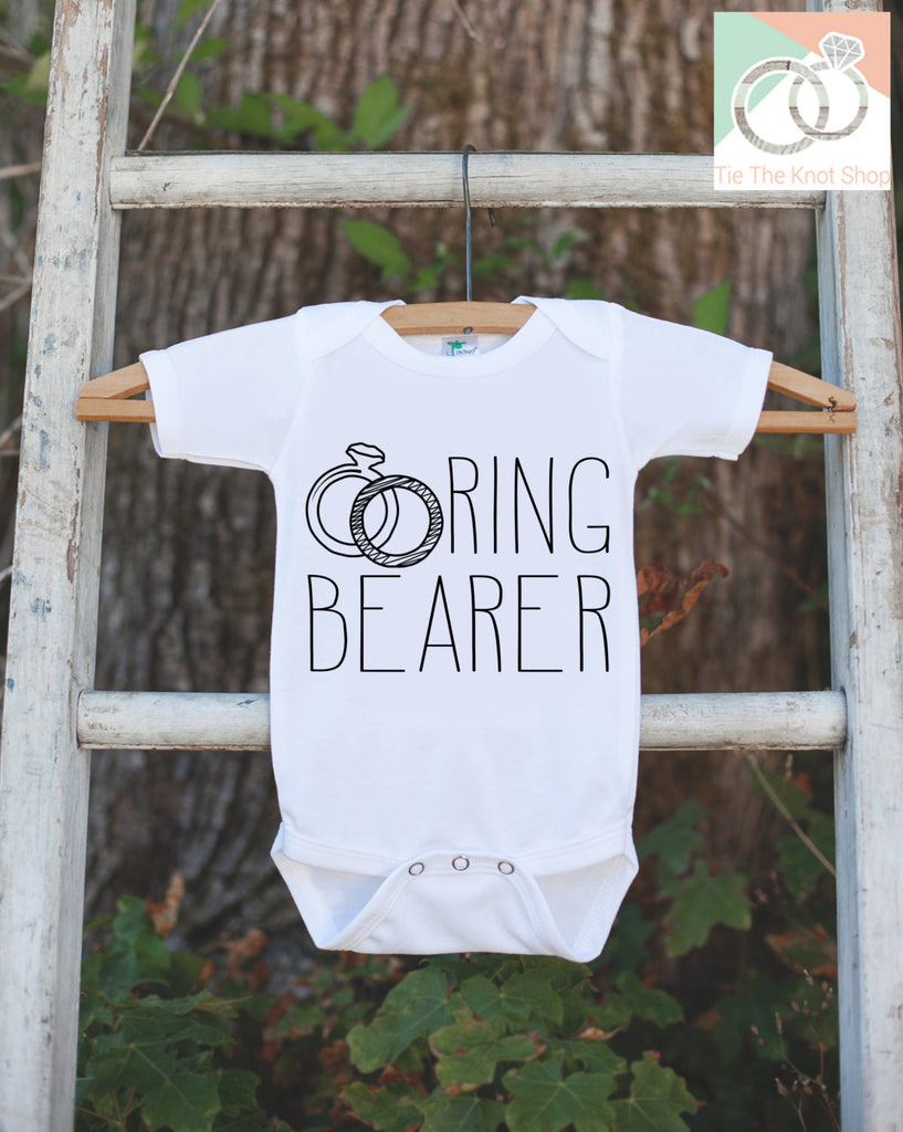 Boys Ring Bearer Outfit - Ring Bearer T-shirt or Onepiece - Ring Bearer - Will you be my Ring Bearer - Wedding Ring Bearer Gift Idea - 7 ate 9 Apparel