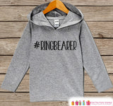 Boys Ring Bearer Top - Kids Wedding Outfit - #Ringbearer Ring Bearer Hoodie - Boys Hashtag Pullover - Funny Wedding Ring Bearer Gift Idea - 7 ate 9 Apparel