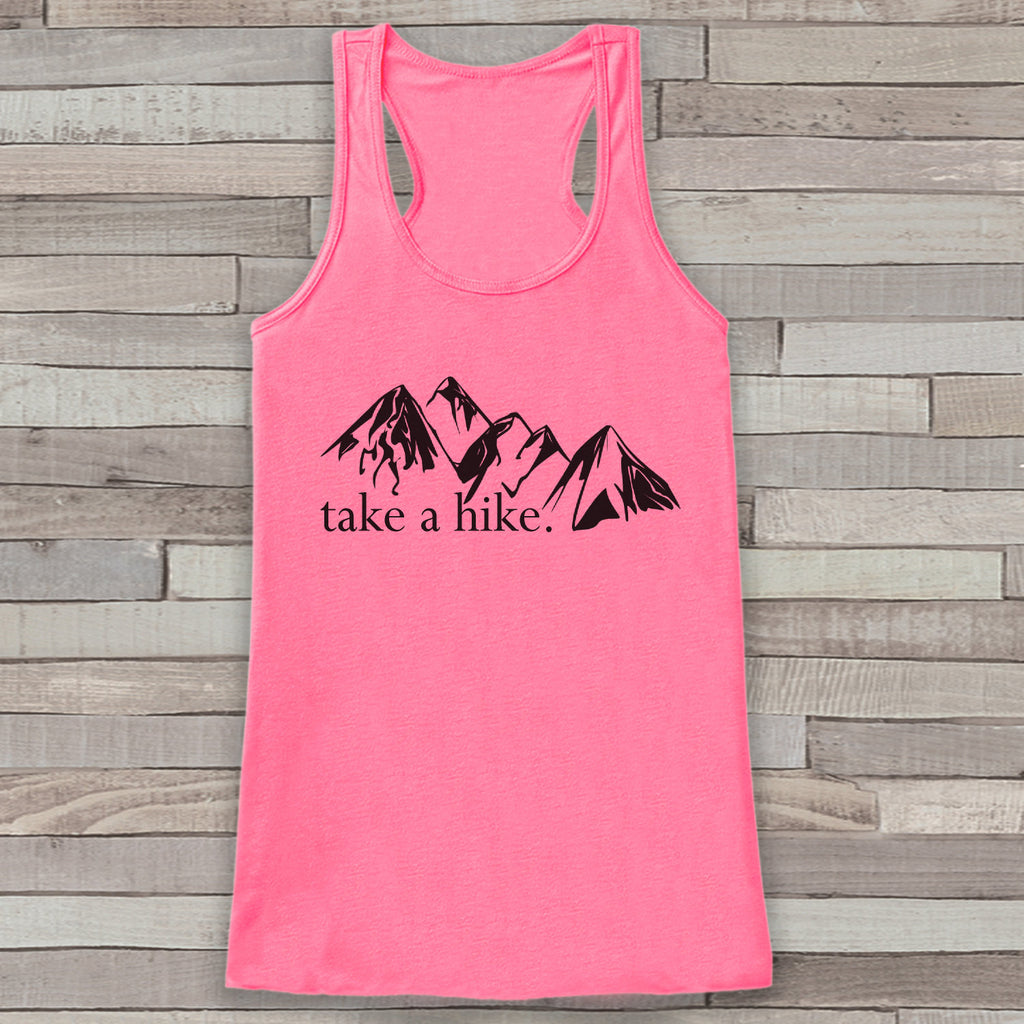 Take a Hike Tank - Mountains Shirt - Adventure Tank Top - Camping Tank Top - Womens Shirt - Outdoors Outfit - Hiking Shirt - 7 ate 9 Apparel