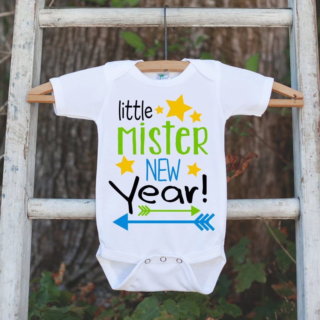 Boys New Years Onepiece- Little Mister New Year