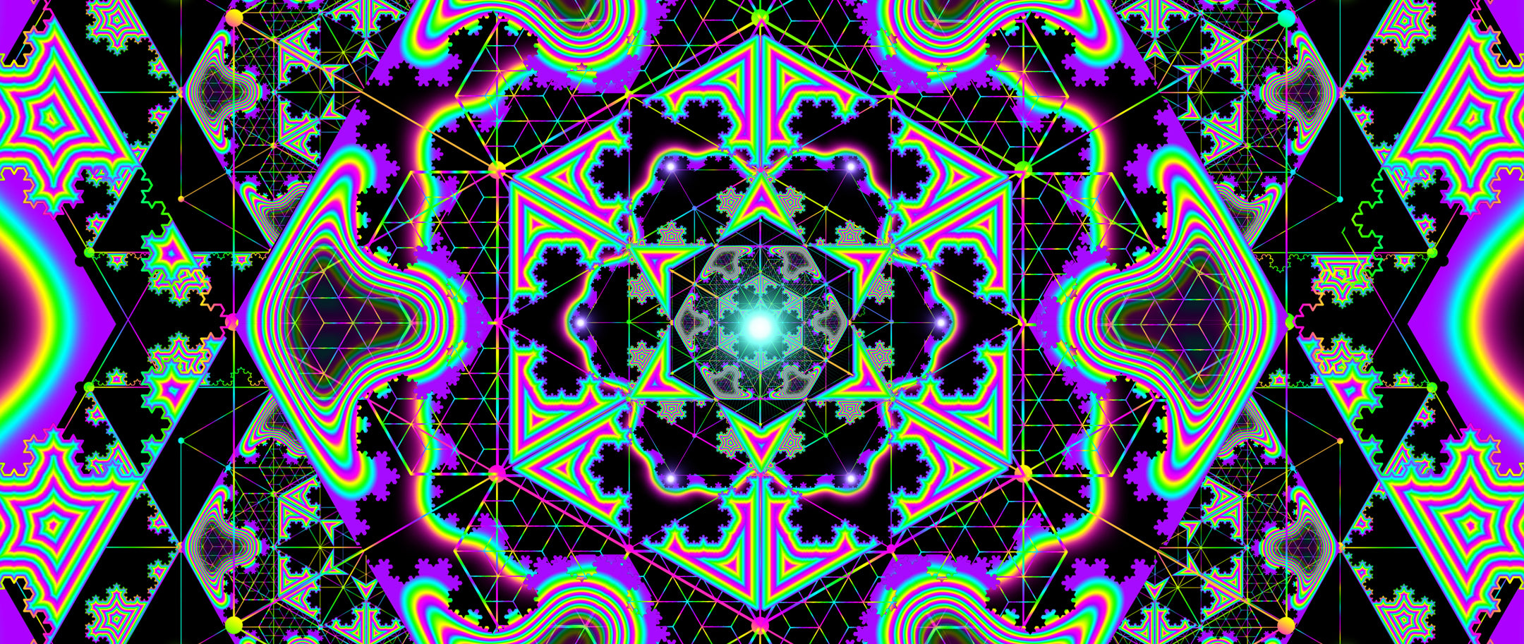 Microgram: Psychedelic Fractalized Geometry