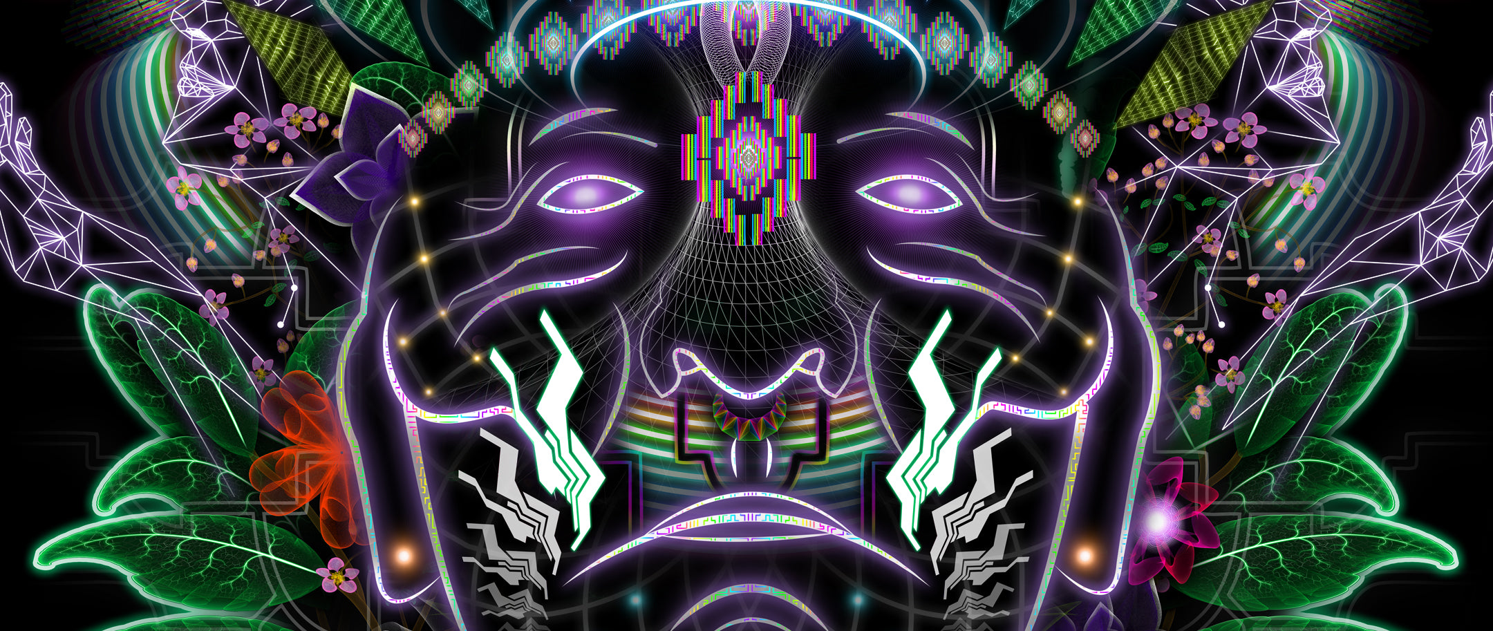 Ayahuasca: Psychedelic Art inspired by Visionary Shamans