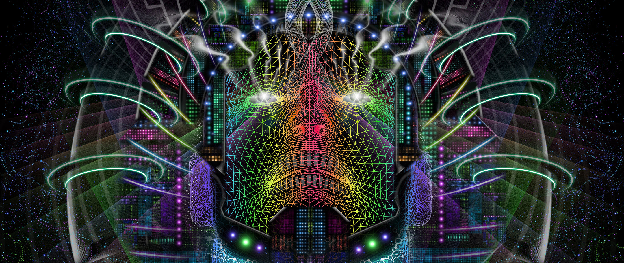 Breakthrough: Psychedelic Art of a DMT Entity