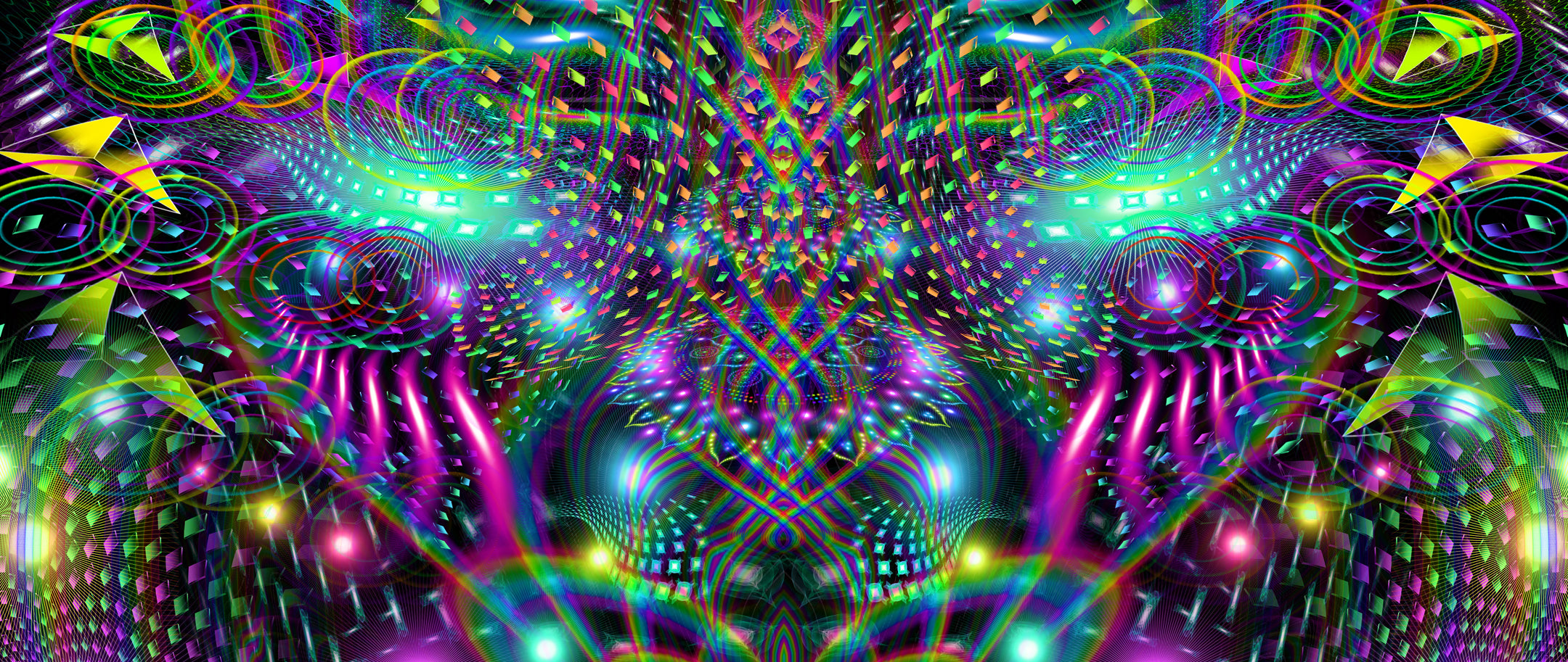Huachamama Collection:: Psychedelic DMT Entity