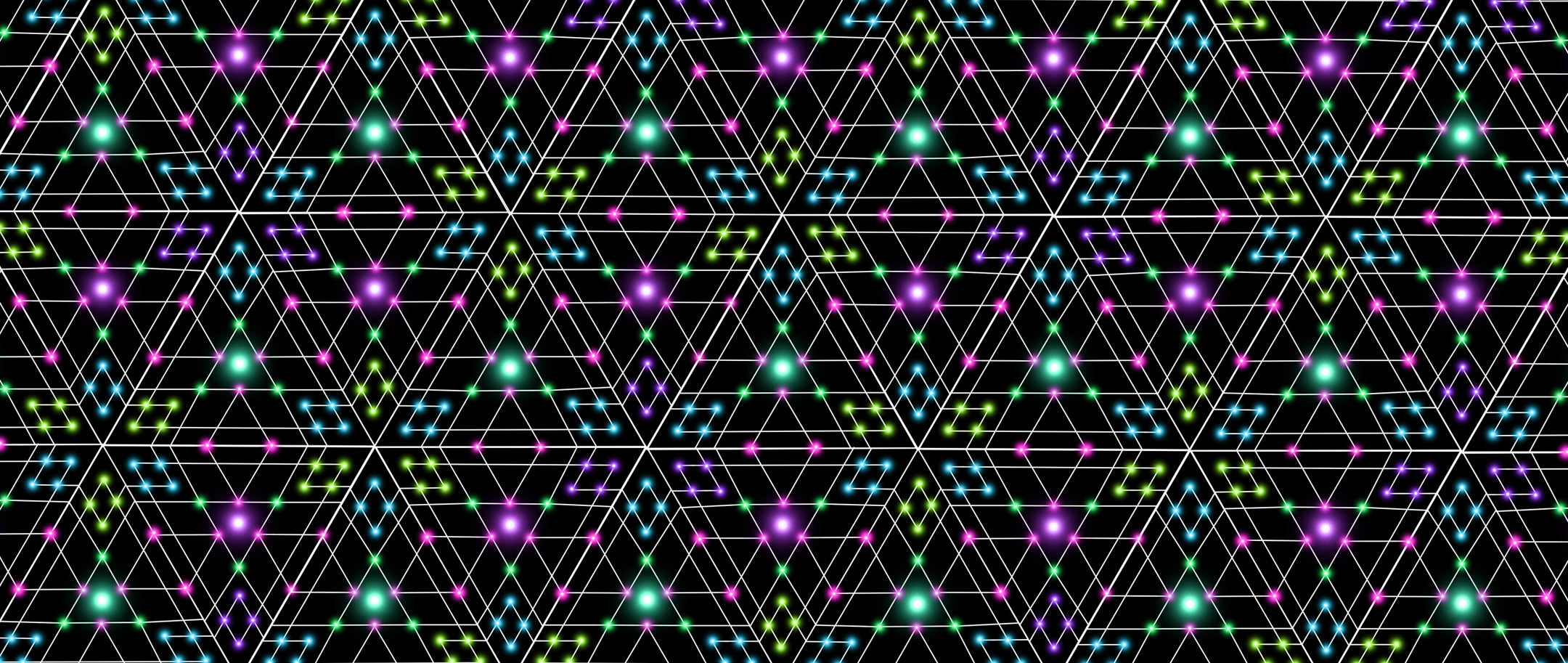 Triesselation is a Tessellated Pattern for Psychedelic Art Lovers!