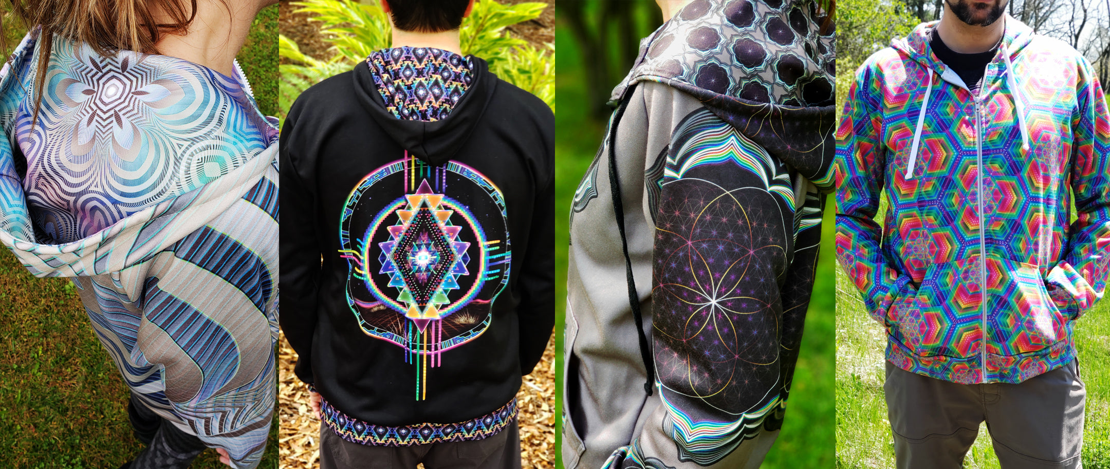 af4dcfa08f74 Limited Offer! Save $30 on all UV/RGB Reactive Psychedelic Hoodies ...