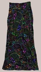 Neopaisley Synergy Skirt - Tetramode® | Psy Styles. Men & Womens Psychedelic Tops & Bottoms