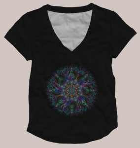 Neonemone Women's Signature Shirt - Tetramode® | Psy Styles. Men & Womens Psychedelic Tops & Bottoms