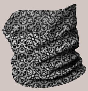 Thumbprint Neo-Scarf - Tetramode® | Psy Styles. Men & Womens Psychedelic Tops & Bottoms