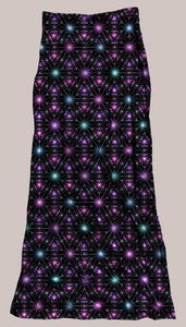 Psychedelic Breathable & Flowy Star Map Synergy Dress