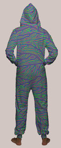 Roots Hooded Younique Onesie - Tetramode® | Psy Styles. Men & Womens Psychedelic Tops & Bottoms