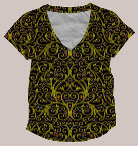 Arcanium Women's All-Over Shirt - Tetramode® | Psy Styles. Men & Womens Psychedelic Tops & Bottoms