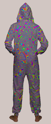 Metamorphosis Hooded Younique Onesie - Tetramode® | Psy Styles. Men & Womens Psychedelic Tops & Bottoms
