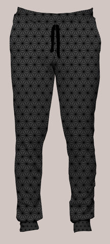 Frequencies :: Tetrahedron Portland Pants (Joggers) - Tetramode® | Psy Styles. Men & Womens Psychedelic Tops & Bottoms