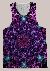 Nucleus : Mens // HELIOS TANK TOP - Tetramode® | Psy Styles. Men & Womens Psychedelic Tops & Bottoms