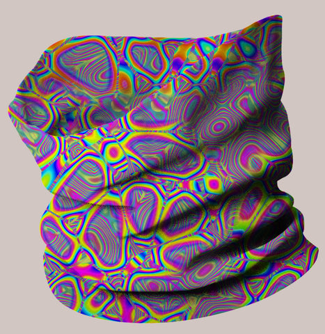Metamorphosis Neo-Scarf - Tetramode® | Psy Styles. Men & Womens Psychedelic Tops & Bottoms
