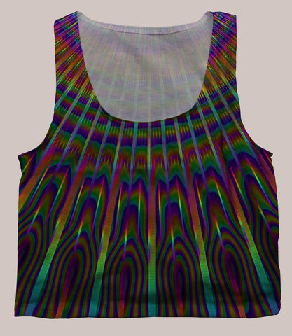 Radiance Crop Top - Tetramode® | Psy Styles. Men & Womens Psychedelic Tops & Bottoms