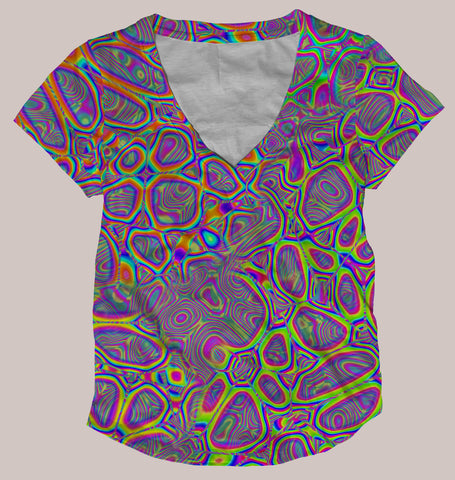 Metamorphosis Women's All-Over print Shirt - Tetramode® | Psy Styles. Men & Womens Psychedelic Tops & Bottoms