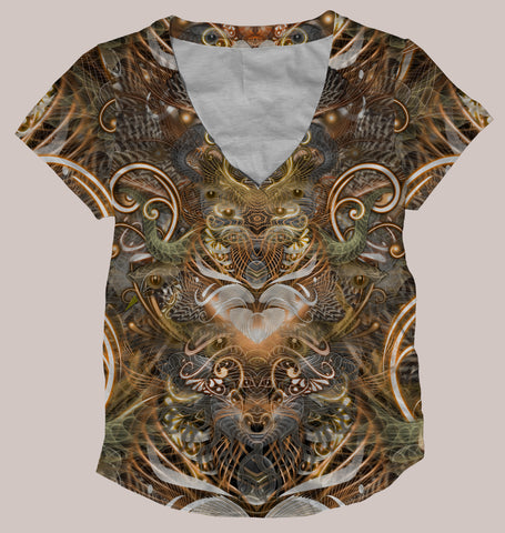 Natural Affinity Women's All-Over print Shirt