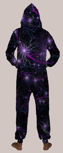 Laniakea Hooded Younique Onesie - Tetramode® | Psy Styles. Men & Womens Psychedelic Tops & Bottoms