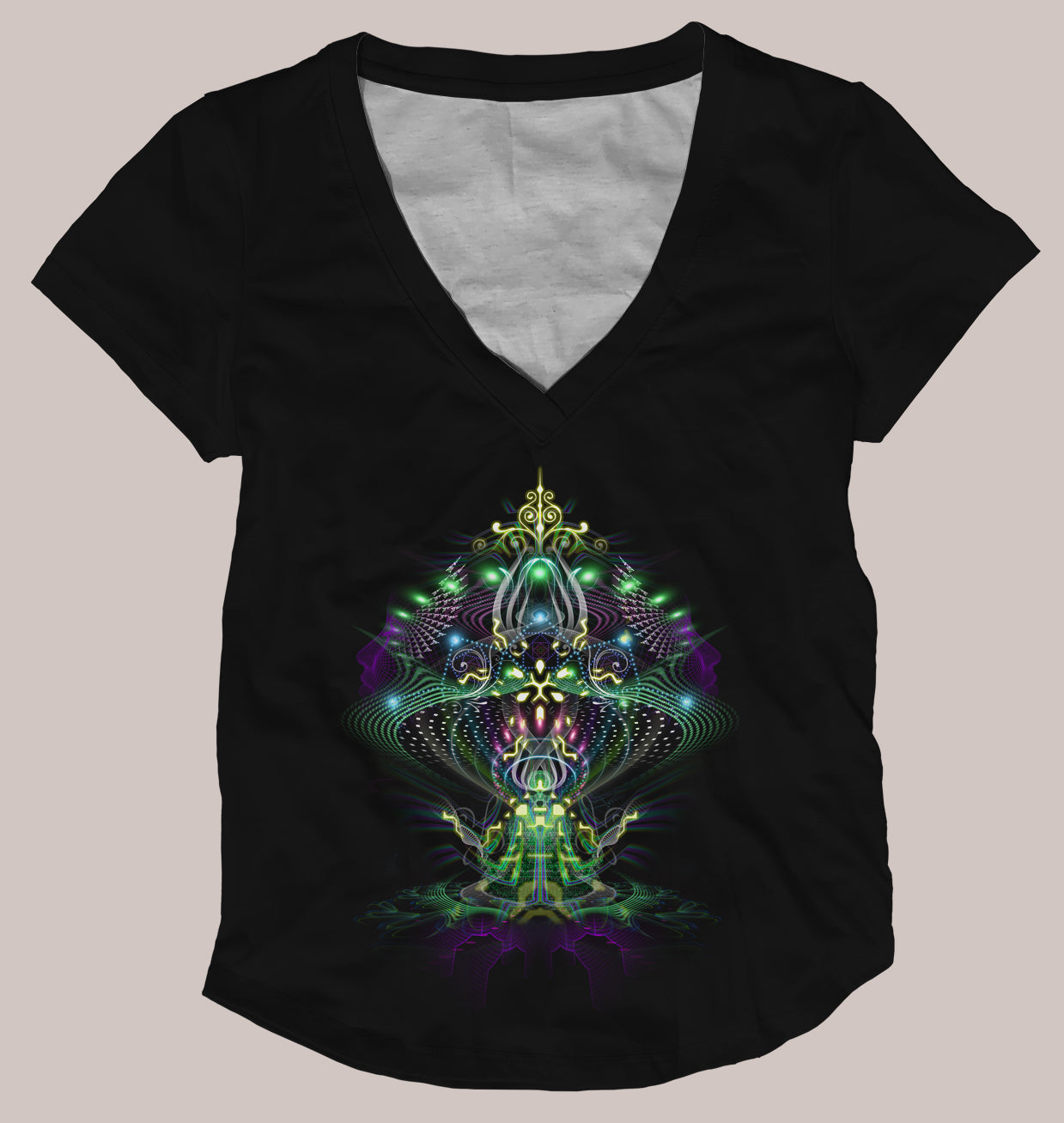 Sporal Women's Signature Shirt - Tetramode® | Psy Styles. Men & Womens Psychedelic Tops & Bottoms