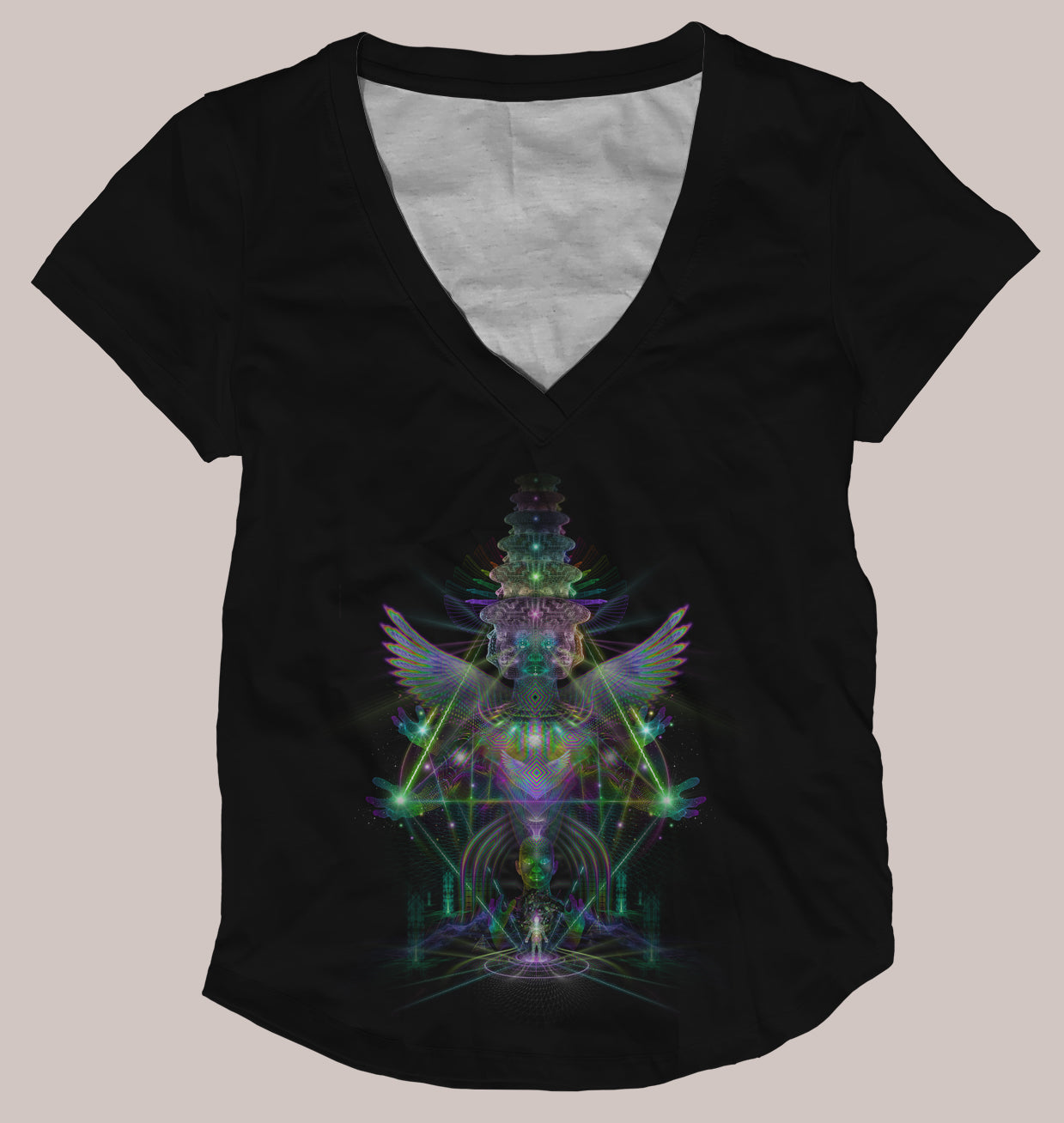 Empyrion Women's Signature Shirt - Tetramode® | Psy Styles. Men & Womens Psychedelic Tops & Bottoms
