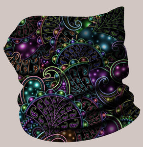 Neopaisley Neo-Scarf - Tetramode® | Psy Styles. Men & Womens Psychedelic Tops & Bottoms