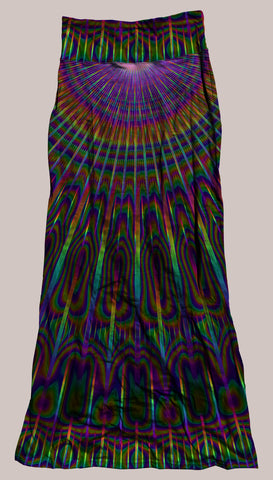 Radiance Synergy Skirt - Tetramode® | Psy Styles. Men & Womens Psychedelic Tops & Bottoms