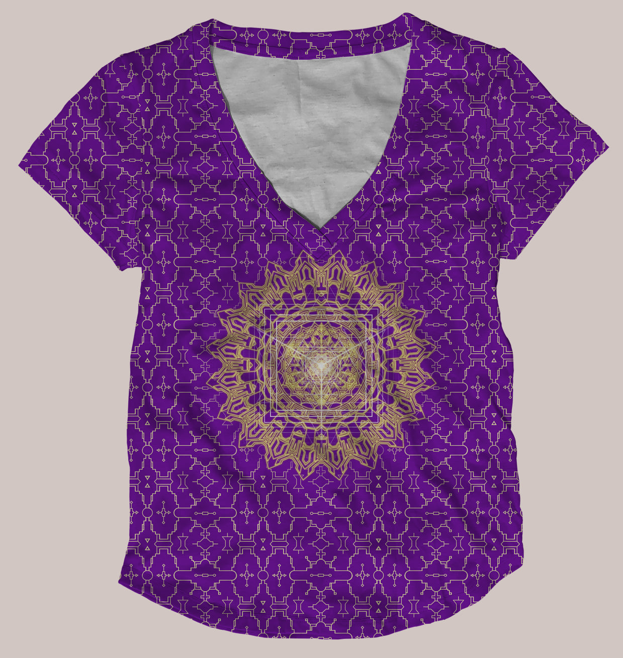 Techno Yantra Women's All-Over print Shirt
