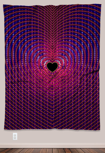 Resonance Psychedelic Tapestry (60x80in)