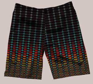 Optika Festi-Go Shorts - Tetramode® | Psy Styles. Men & Womens Psychedelic Tops & Bottoms
