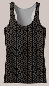 Ancestral :: Safavid Women's Racerback Tank Top - Tetramode® | Psy Styles. Men & Womens Psychedelic Tops & Bottoms