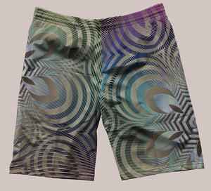Incipient Festi-Go Shorts - Tetramode® | Psy Styles. Men & Womens Psychedelic Tops & Bottoms