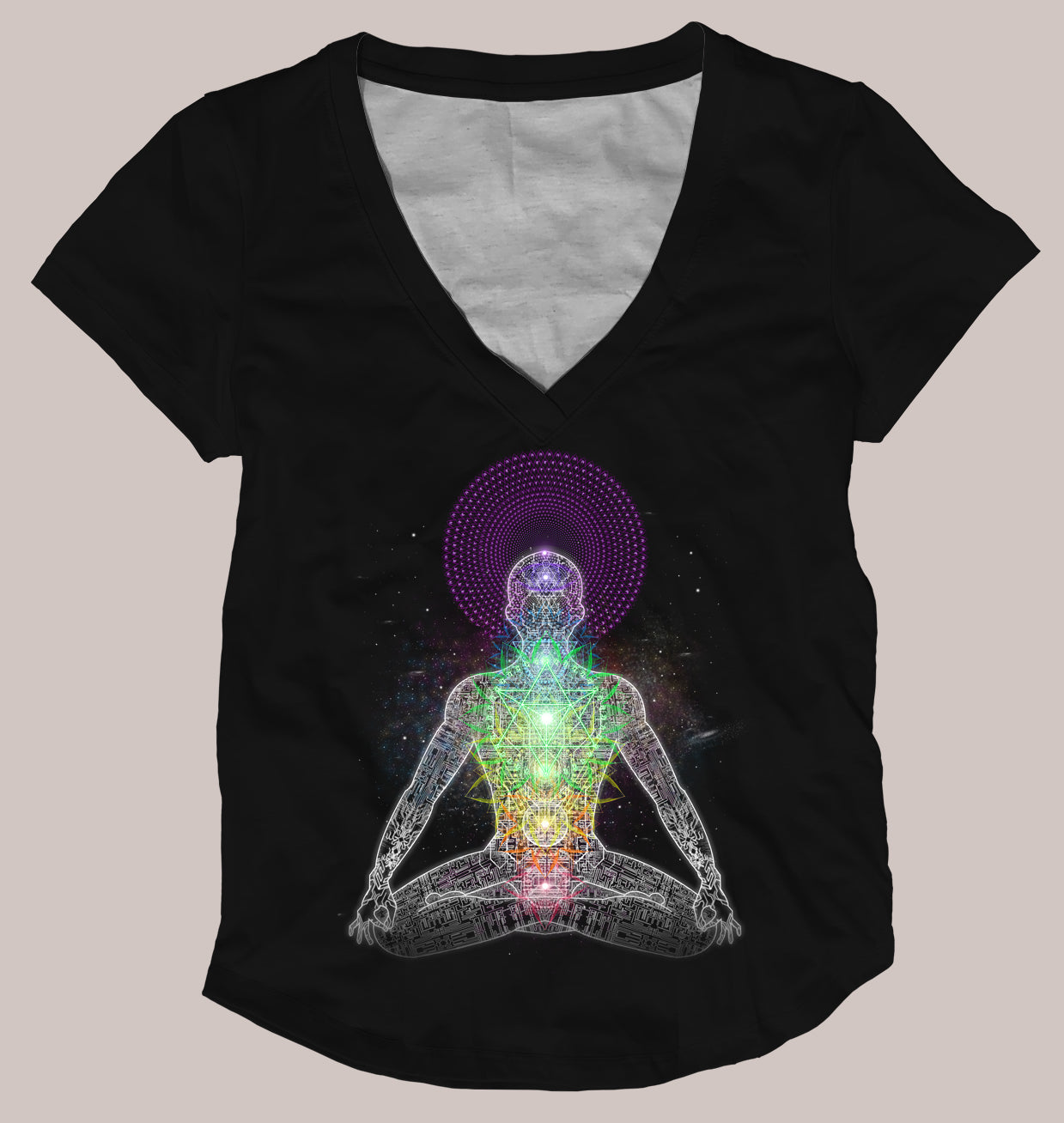 Inner Galactic Women's Signature Shirt - Tetramode® | Psy Styles. Men & Womens Psychedelic Tops & Bottoms