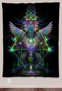 Empyrion Psychedelic UV-Reactive Tapestry (60x80in) - Tetramode® | Psy Styles. Men & Womens Psychedelic Tops & Bottoms