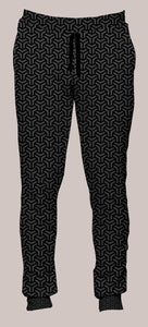 Frequencies :: Interlace Portland Pants (Joggers) - Tetramode® | Psy Styles. Men & Womens Psychedelic Tops & Bottoms