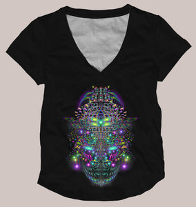 Huachamama Women's Signature Shirt - Tetramode® | Psy Styles. Men & Womens Psychedelic Tops & Bottoms