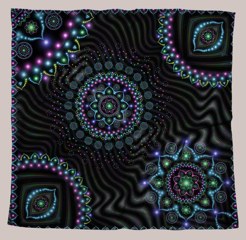 Lumindala UV-Reactive Bandana