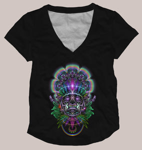 Ayahuasca Women's Signature Shirt - Tetramode® | Psy Styles. Men & Womens Psychedelic Tops & Bottoms