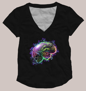 Sizzle Women's Signature Shirt - Tetramode® | Psy Styles. Men & Womens Psychedelic Tops & Bottoms