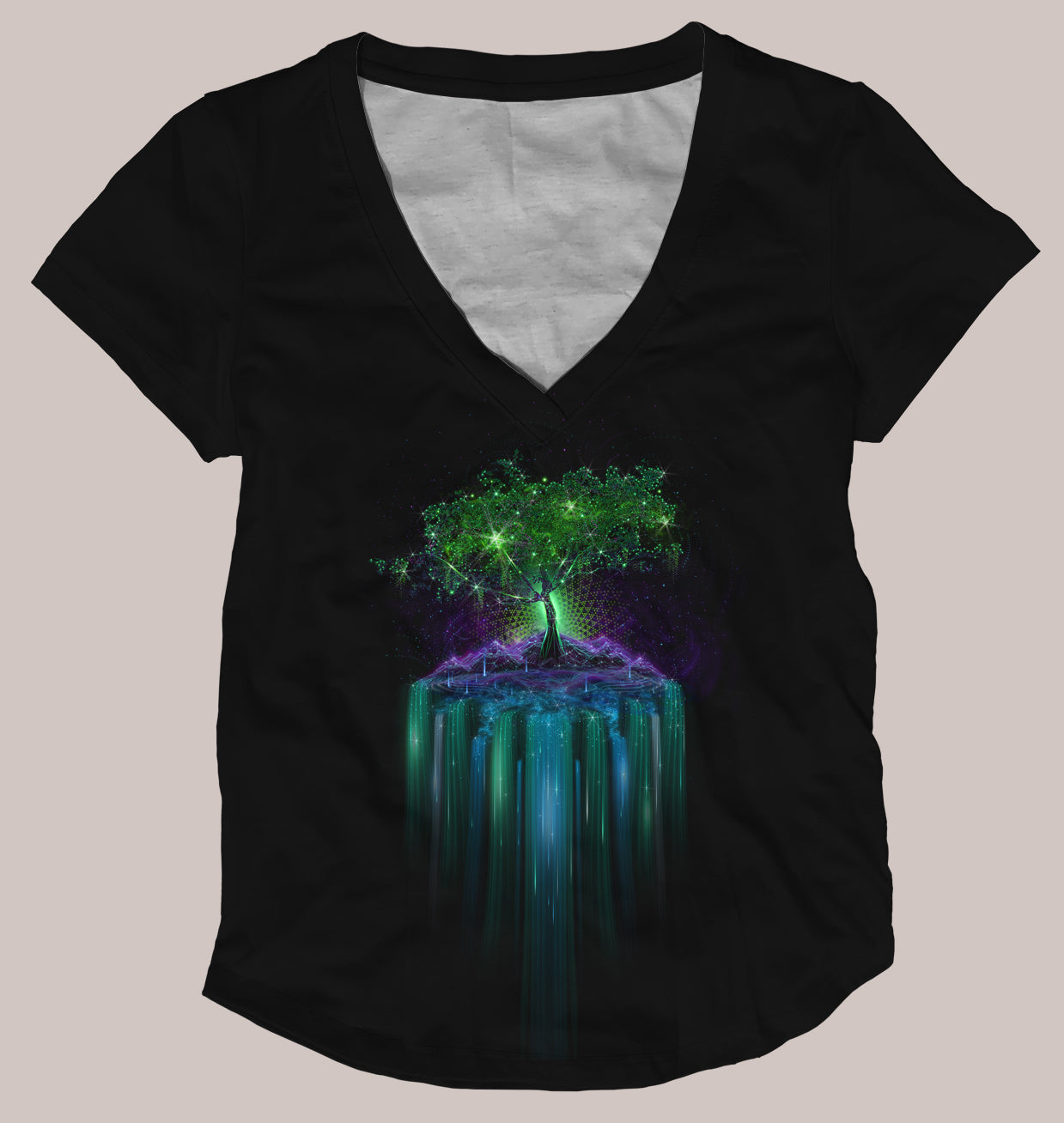 Tree of Life Women's Signature Shirt - Tetramode® | Psy Styles. Men & Womens Psychedelic Tops & Bottoms
