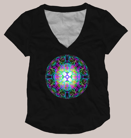 Techno Shamanic RGB Signature Shirt - Tetramode® | Psy Styles. Men & Womens Psychedelic Tops & Bottoms