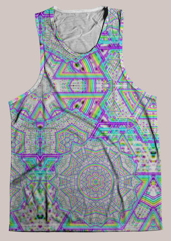 Enon : Mens // HELIOS TANK TOP - Tetramode® | Psy Styles. Men & Womens Psychedelic Tops & Bottoms