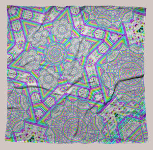 Enon UV-Reactive Bandana - Tetramode® | Psy Styles. Men & Womens Psychedelic Tops & Bottoms
